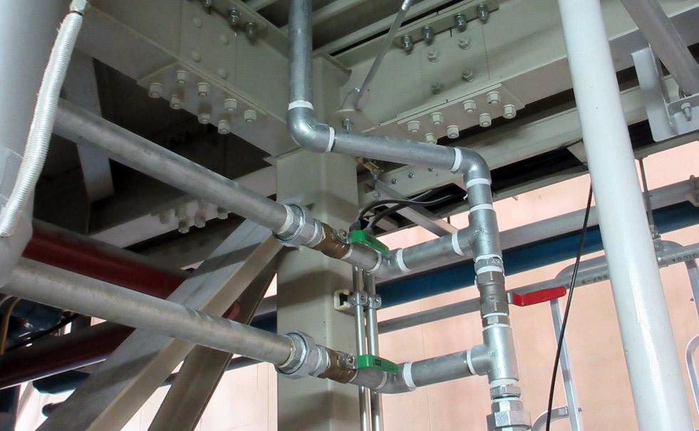 各種鋼製配管、溶接、ネジ込み
